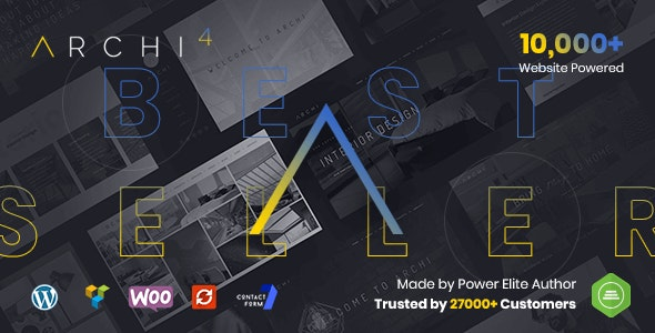 Nulled Archi v4.3.7 - Interior Design WordPress Theme