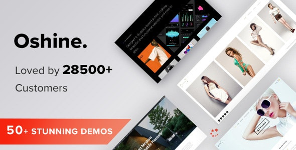 Nulled Oshine v6.9.9 - Creative Multi Purpose WordPress Theme