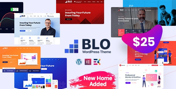 Nulled BLO v3.0 - Corporate Business WordPress Theme