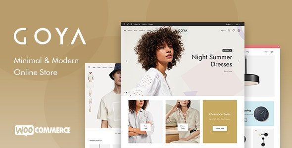 Nulled Goya v1.0.5.2 - Modern WooCommerce WordPress Theme
