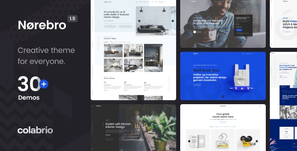 Nulled Norebro v1.5.3 - Creative Multipurpose WordPress Theme