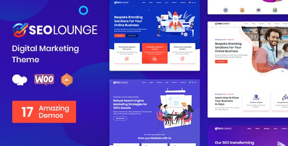 Nulled SEOLounge v3.0.2 - SEO Agency WordPress Theme