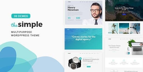 Nulled The Simple v2.6.1 - Business WordPress Theme